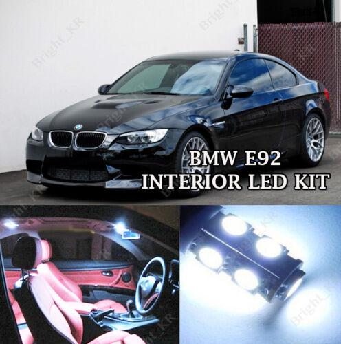 BMW E92 3 SERIES XENON ICE WHITE FULL LED LIGHT 2009-2014 INTERIOR KIT SET