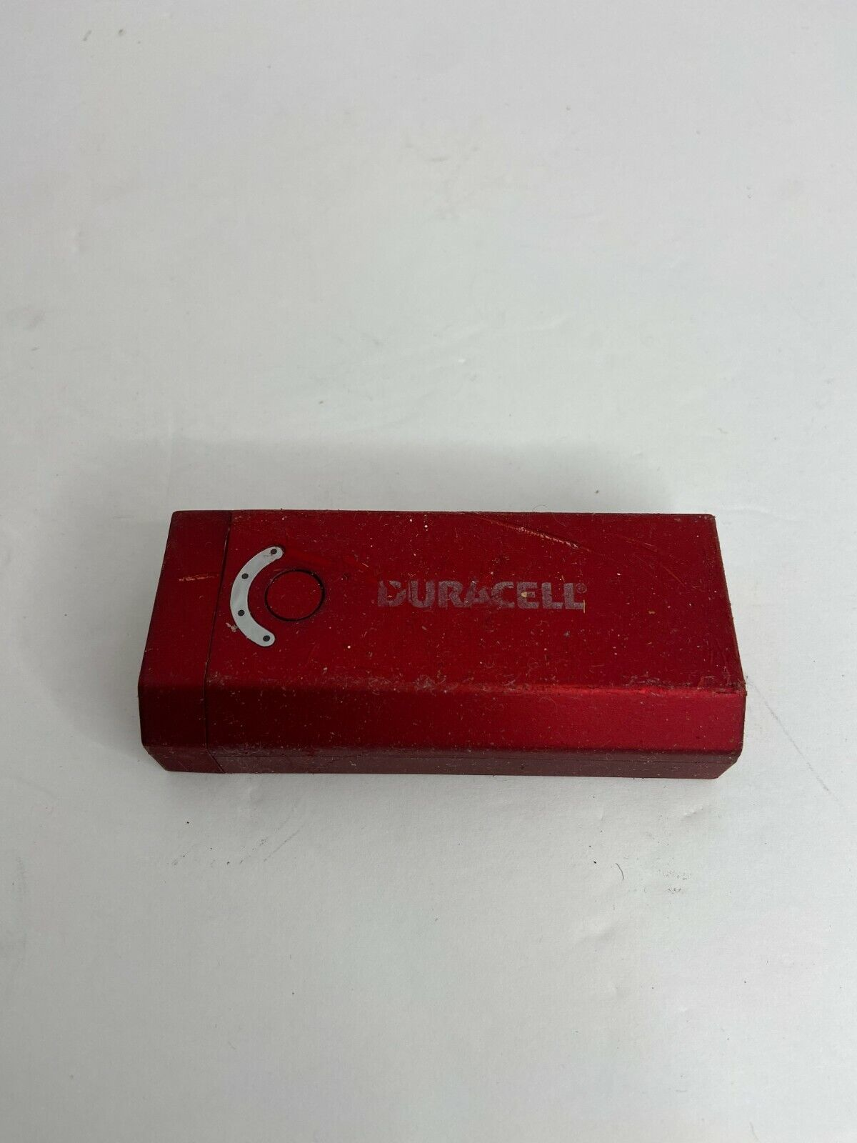 💜 Duracell DU7180 Portable Device Power Bank 4400mah Red WORKS A4