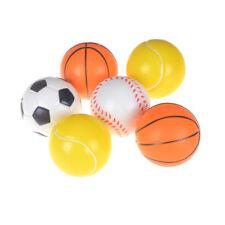 10cm Stress Sport Ball Sponge Foam Basketball Football Soccer Fl