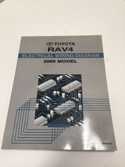 2005 Toyota Rav4 Oem Factory Electrical Wiring Diagram Book