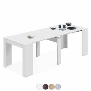 Dettagli su Tavolo consolle extensibile per cucina, tinello o sala da  pranzo, Kendra