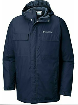 Columbia Men's Collegiate Navy Thermal Coil Hooded Jackets ...