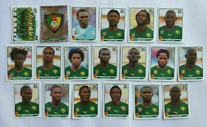 Panini-coupe-du-monde-2010-Cameroun-Cameroun-equipe-equipe-COMPLETE-SET-WORLD-CUP-WC-10