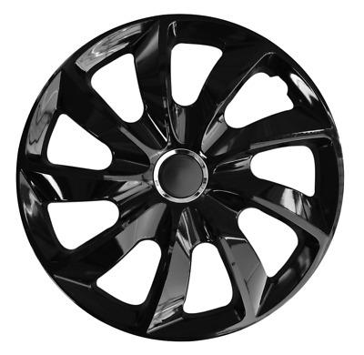 NRM Universal Wheel Trims STIG Black 14 set 4 pieces
