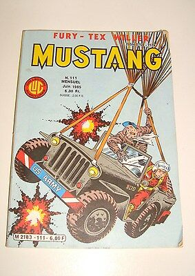 Verenigd Ancien Livre Lug Mustang N°111 Mensuel Juin 1985 Tegen Elke Prijs