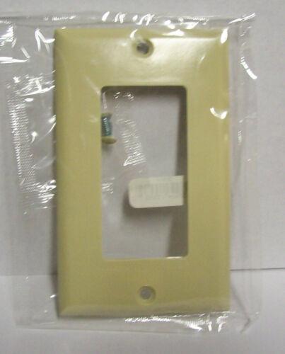 Lot  of 50  Ivory Cooper 1-Gang Standard Box GFI GFCI Switch Wall Plates