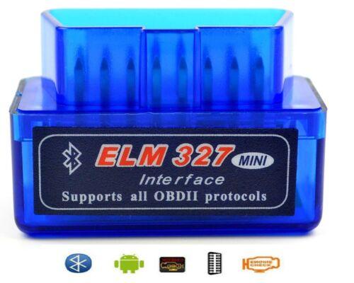 v1.5 ELM327 Bluetooth OBD2 Code Reader Scan Diagnostic Tool ANDROID TORQUE New