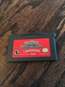 Pokemon-Mystery-Dungeon-Red-Rescue-Team-Nintendo-Gameboy-Advance-GBA-Cart