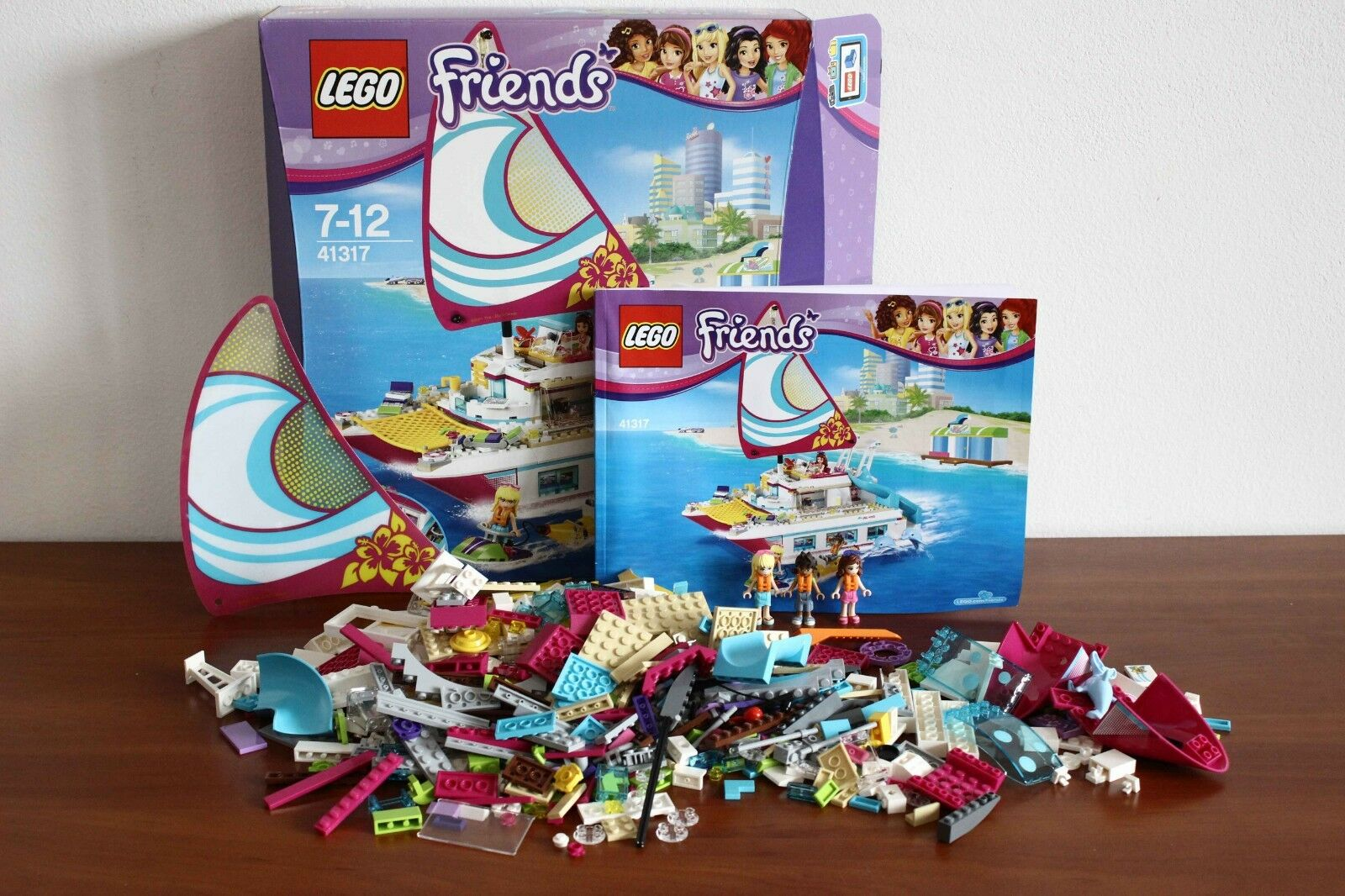 Lego Friends Set 41317 1 Sunshine Catamaran Complete Instructions