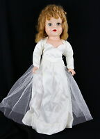 "Vintage Artisan USA Made Hard Plastic 20"" Raving Beauty Doll 1950s Original Box"