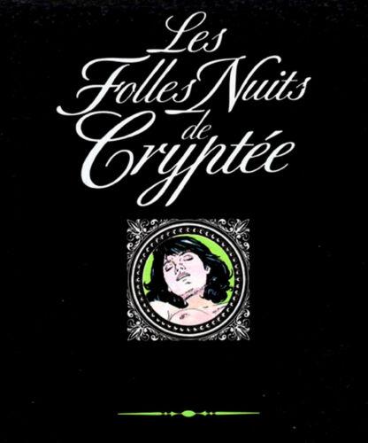 Le BD adultes Marquis Les Folles Nuits de Cryptée Glénat