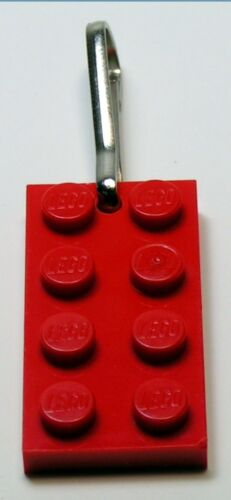 Zipper Pull Key Ring LEGO Party Favors Sample Pack 1 each: Necklace Key Chain