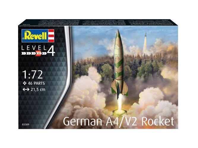Revell-Germany 1//72 German A4//V2 Rocket RMG3309