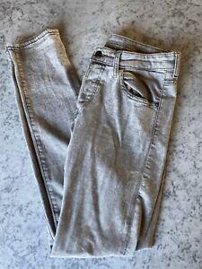 Mens-H-amp-M-Grey-Skinny-Stretch-Jeans-31W-32L