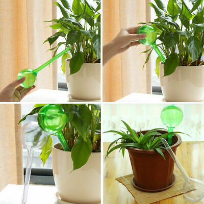 Clear Automatic Self Watering Globe Plant Water Bulbs Ball Houseplant PVC Device
