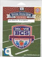 2013 Bcs Championship Patch Notre Dame Vs Alabama 100% Authentic & Ncaa Licensed