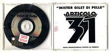 Cd PROMO ARTICOLO 31 J-Ax Mister Gilet di pelle cds singolo 1994 Dj Jad J.Ax Mr