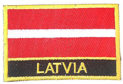Film-fanartikel Buttons & Pins Lettland Bestickt Nähen Oder Bügel Patch Abzeichen Diversifizierte Neueste Designs