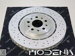original satz bremsscheiben vorne maserati ghibli quattroporte m157 m156 g360mm ebay