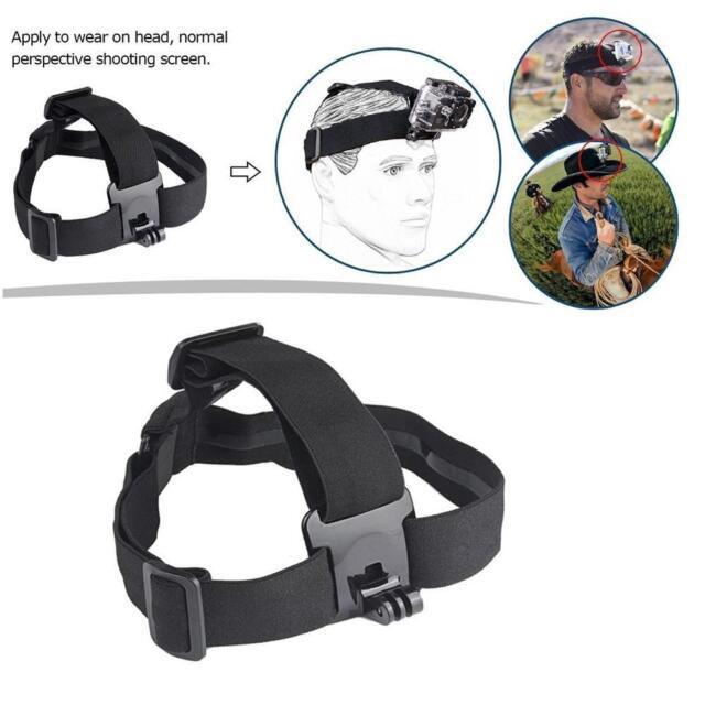 Head Helmet Strap Chest Harness Mount GoPro Accessoriess Go Pro 3+ 4 5 6 Useful