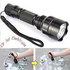 5000 Lumens XM-L C8 T6 LED Flashlight 18650 Torch Lamp Light Tactical US Stock