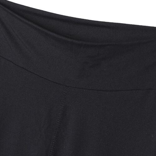 Womens Yoga Workout Gym Print Crop Pants Leggings Slim Fitness 3//4 Capri Trouser