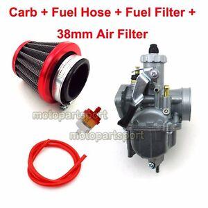26mm-Mikuni-Carburetor-38mm-Air-Filter-For-Honda-ATC200-ATC200S-ATC200E-ATC200X