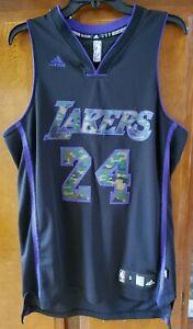 Adidas NBA Los Angeles Lakers #24 Kobe Bryant Black Mamba Camo ...