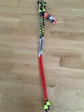 Leki Ski Poles World Cup GS Racing 115cm-Trigger S System/straps INCLUDED!NEW!
