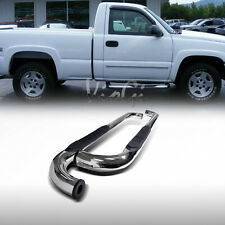 "Fit 99-13 Silverado/Sierra 14 2500/3500 Regular Cab 3"" S/S Side Step Nerf Bars"