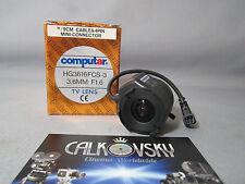 COMPUTAR WIDE ANGLE LENS 1.6/3.6MM (CS) C-MOUNT LENS CCTV TV SECURITY CAMERA