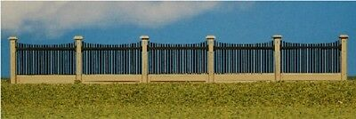 Fence Section Kit HO Scale 1:87 Model Railroad Trains Precision Laser Cut Wood