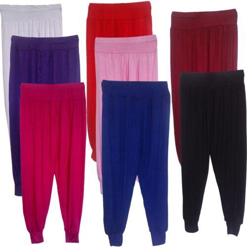 baggy ali baba leggings pantalon NEUF Filles Joli pantalon de harem bas 7-13yrs # 82