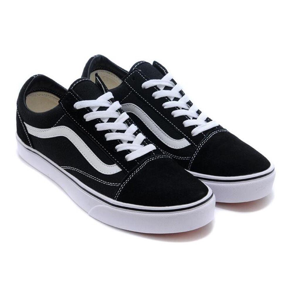 a689ea260d Details about Vans Old Skool Scarpe da ginnastica classiche in tela nere scarpe  sportive