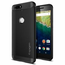 Spigen Nexus 6p Funda Rugged Armor Negro