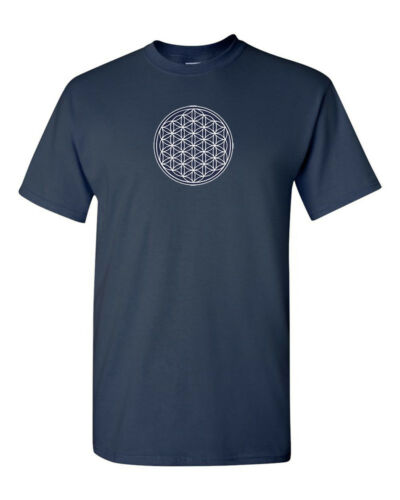 The Flower of Life T-Shirt Sacred Geometry Shirt SZ S-5XL