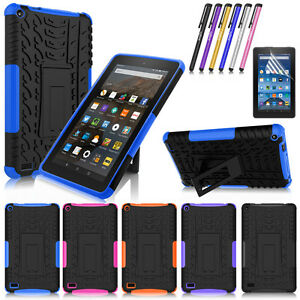 Heavy-Duty-Protective-Hard-Case-for-Amazon-Kindle-Fire-7-034-2015-5th-Generation