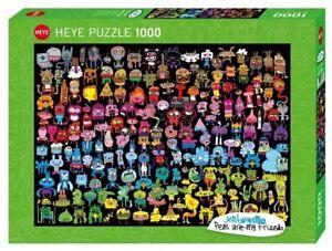 (HY29786) - Heye Puzzles - 1000 Pc - Doodle Rainbow