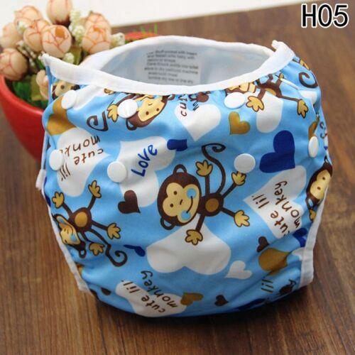 Baby Swim Diaper Waterproof Cloth Diapers Pool Pant Cover Reusable Baby Na#mlg