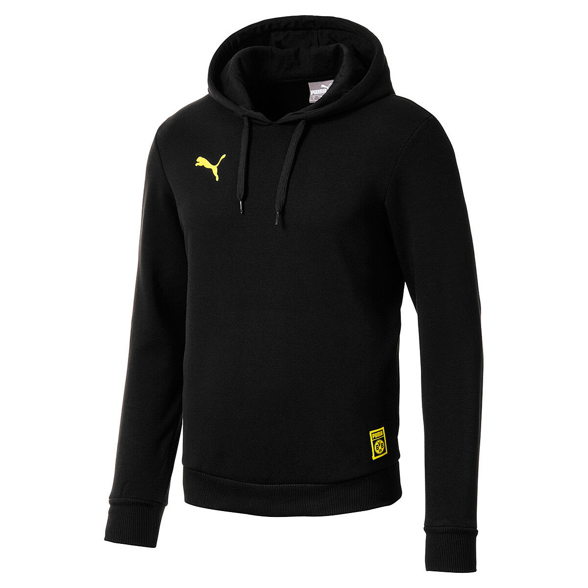 Puma BVB Premium Stencil Hoody Borussia Dortmund 09 Herren Sweatshirt 754110 02