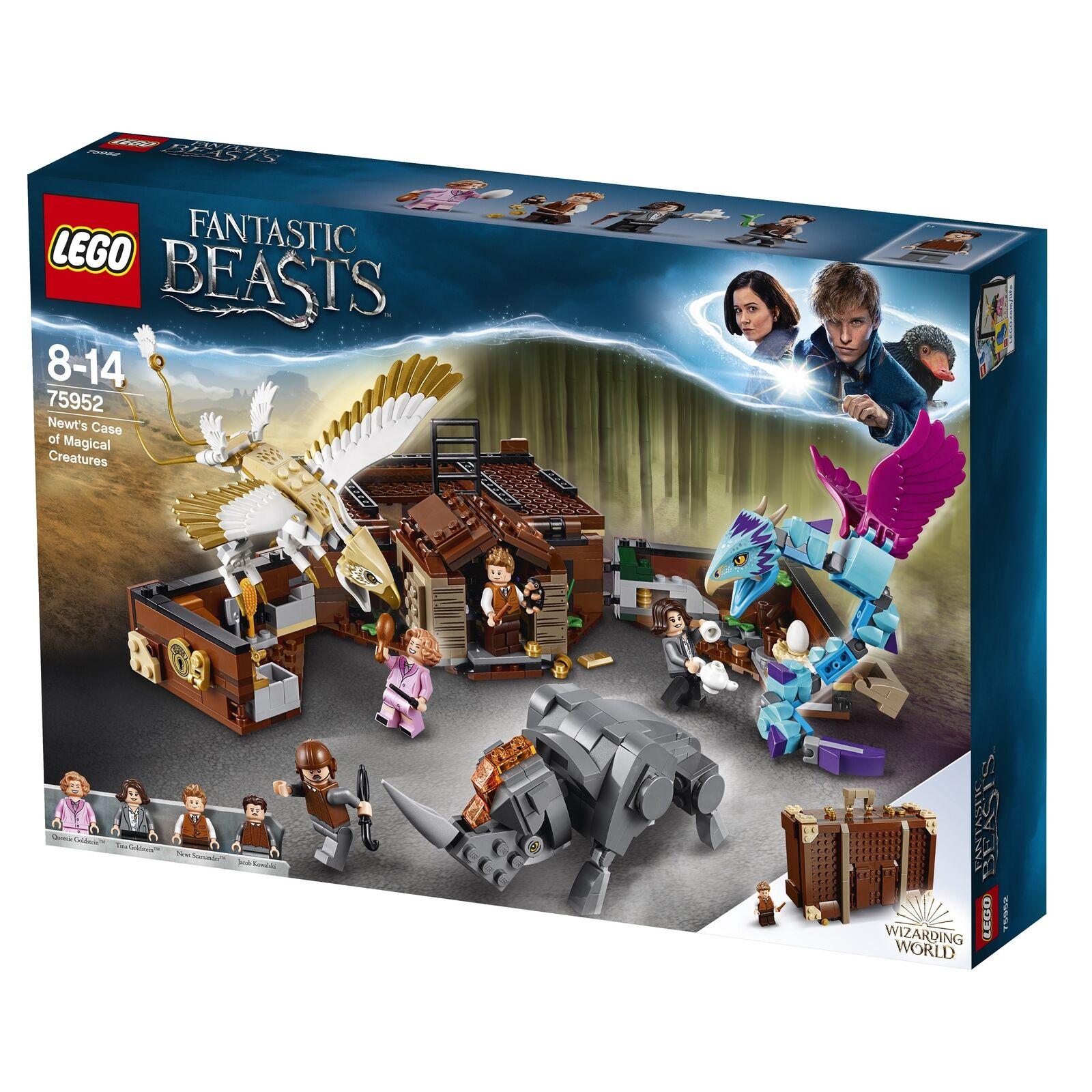 LEGO 75952 Harry Potter Phantastische Tierwesen Koffer der magischen Kreaturen