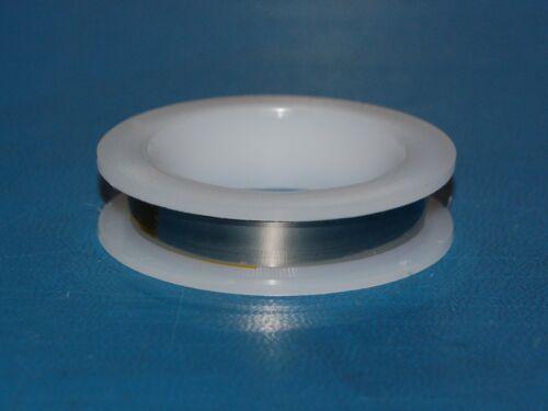 """.162/"""" x .001/"""" Molybdenum Foil Strip // Ribbon 4.11mm x .025mm x 3/'"""