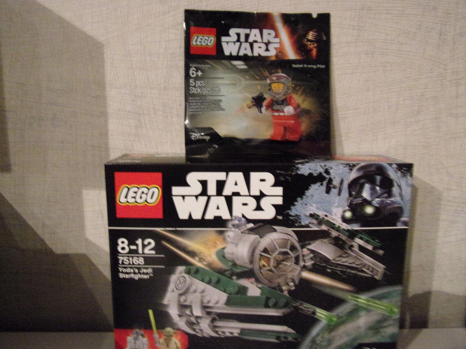 LEGO Star Wars 75168 Yoda 's Jedi stellari  PLUS Rebel 5004408  - NUOVO & OVP