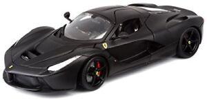 Cs 1/18 Bburago / Burago Ferrari Signature Series LaFerrari Nero opaco 16901cs