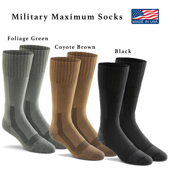 1e74a86d907 Fox River Military Wick Dry MAXIMUM Mid Calf Boot Sock 6074 X-large Foliage  Green for sale online