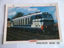 CARTE FICHE TRAIN E-632/633