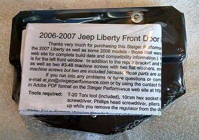 Left Rear Steiger Performance Power Window Regulator Repair Kit for 2002-2006 Jeep Liberty
