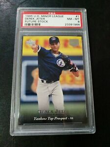 1995-U-D-Minor-League-Derek-Jeter-Top-Prospects-PSA-8
