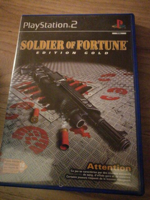 Soldier of Fortune edition gold Sony Playstation PS2 PAL FR