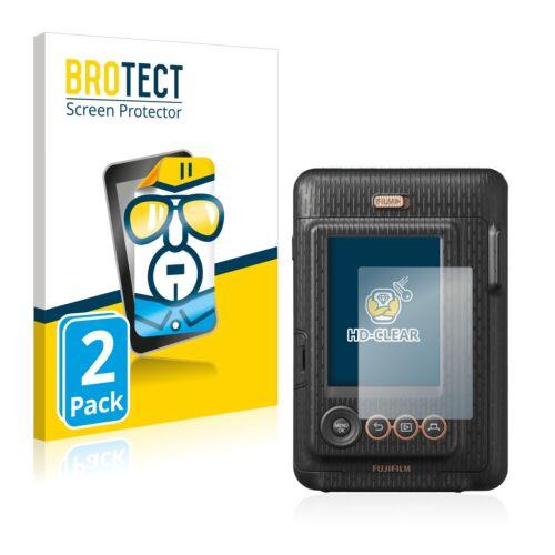 2x Screen Protector FujiFilm Instax Mini LiPlay Protection Film Crystal-Clear